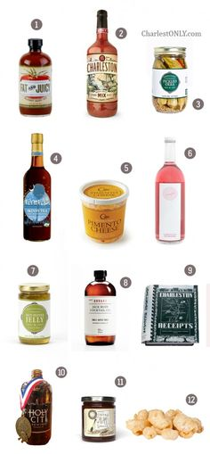 Charleston Cocktail Party 101- Whether stocking your home bar or in need of a great hostess gift, here is a handy list of Charleston-made products that are perfect for your next social gathering. Enjoy!