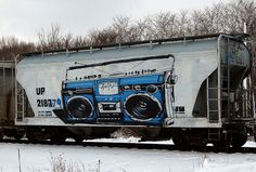 It's been a significant amount of time since we have seen someone walking down the street with the boom box, aka ghetto blaster bumpin not giving a f*@$!  Aware pays homage to one of the greatest designed music players of all time.