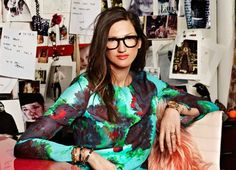 A Pop of Color and Long Hours: Jenna Lyons' Best Success Tips | Levo League | @J.Crew #fashion #careerpath #communication