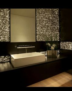 You can find here amazing and very creative contemporary bathroom design ideas.You can create modern look in your bathroom design with these ideas Contemporary Bathrooms, Contemporary Decor, Modern Bathroom, Neutral Bathroom, Bathroom Black, Small Bathroom, Contemporary Stairs, Modern Sink, Contemporary Cottage