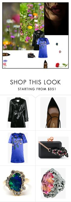 """""""Pure Earth"""" by sue-mes ❤ liked on Polyvore featuring Theyskens' Theory, Aquazzura, Marni, Sophia Webster and Kimberly McDonald"""
