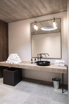 bathroom in Hotel Wiesergut | GOGL ARCHITEKTEN