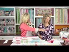 Mystery Block of the Month: Finishing Your Quilt... - YouTube