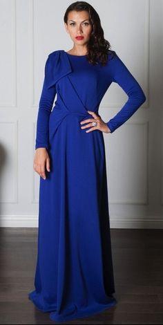 Blue Ava Dress