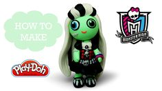 How To Make Play Doh Frankie Stein Monster High - Play Doh Video