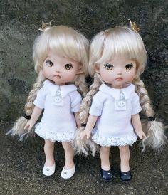 """좋아요 3개, 댓글 1개 - Instagram의 mini(@petite_jiwoo)님: """"#petitejiwoo #doll #resindoll #dollstagram #toy #arttoy #tiny #handmade #dollpainting #dollmakeup…"""""""