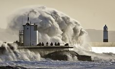 Why are people so fascinated by extreme weather? Photograph: Ben Birchall/PA