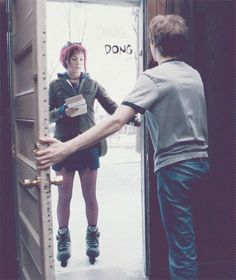 • movie Michael Cera scott pilgrim scott pilgrim vs. the world ramona flowers mary elizabeth winstead hoho ramonaflawers •