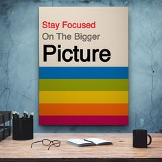 """Stay Focused"" Inspirational Canvas Art by PosterMMe ""Always remember, your focus determines your reality. Business Motivational Quotes, Motivational Gifts, Business Quotes, Comic Poster, New Poster, Gifts For Art Lovers, Lovers Art, Inspirational Canvas Art, Poster Decorations"