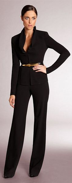 ✚ Donna Karan.  love it...<3  #womensfashion #fashion #style #office #work #clothes  http://www.roehampton-online.com/?ref=4231900