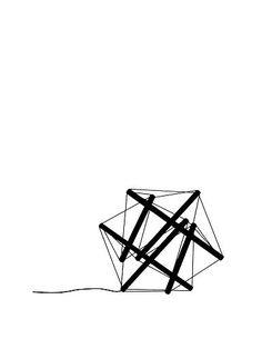 Ingo Maurer - Light Structure T Grafik