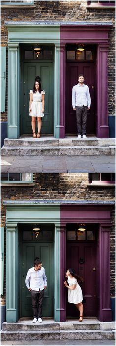 The favourite photographs of Jess and Jimmy pre wedding photography in London's Brick Lane area when Bristol Wedding Photographer came to town