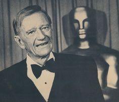 nice The 1979 Academy Awards Show ~ John Wayne's dr...   People I Love Check more at http://kinoman.top/pin/23619/