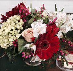 Flower arranging class @ Frampton's Flowers
