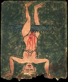 """organicbody: """" Initiation Card hell scenes and torture depicted… (source: himalayanart.org) """""""