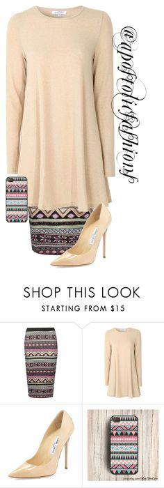 """Apostolic Fashions #1324"" by apostolicfashions on Polyvore featuring Glamorous and Jimmy Choo"