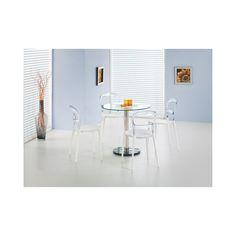 CYRYL masă sticlă-202 80cm Dining Table, Chair, Furniture, Decoration, Home Decor, Decor, Decoration Home, Room Decor, Dinner Table