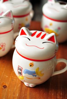 HOT SALE Japan Kawaii Lucky cat ceramic cup milk cup, tea coffee cup, fashion gift, home supplies wholesale, free shipping