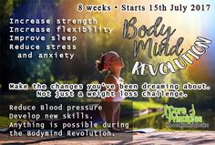 The 2017 Bodymind Revolution is coming soon. An 8 week challenge. Starting July 15th, this year will include Bodyscans, Fitness Testing and Muscular Skeletal Function Testing, 30 min targeted class per week, guest speakers and important fitness and nutritional information.  Register your interest at Reception Now! #delaide #southaustralia