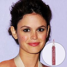 Rachel Bilson. Flushed, rosy cheeks + pink lips + brown smokey eyes = lovely makeup.