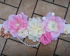 Faja maternidad elegancia rosa polvoriento por LittleOrchidStudio