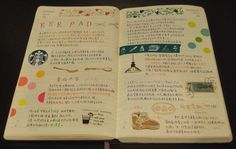 love the way this journal page is set up