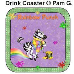 Rainbow coaster I made