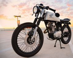 Honda CB125s Cafe Racer ~ Return of the Cafe Racers