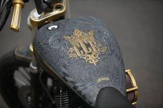custom matt black paint motorcycles - Google Search