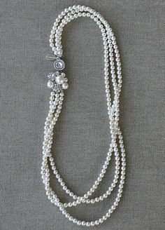 Pearl Necklace - Elise - Best Selling!
