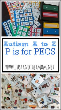 In our world, P is for PECS. PECS stands for Picture Exchange Communication System and is a huge part of our lives. Learn about it today on Autism A to Z.