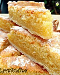 Lemon Frangipane - this is not your usual coffee cake or dessert! Lemon + almond = delicious.