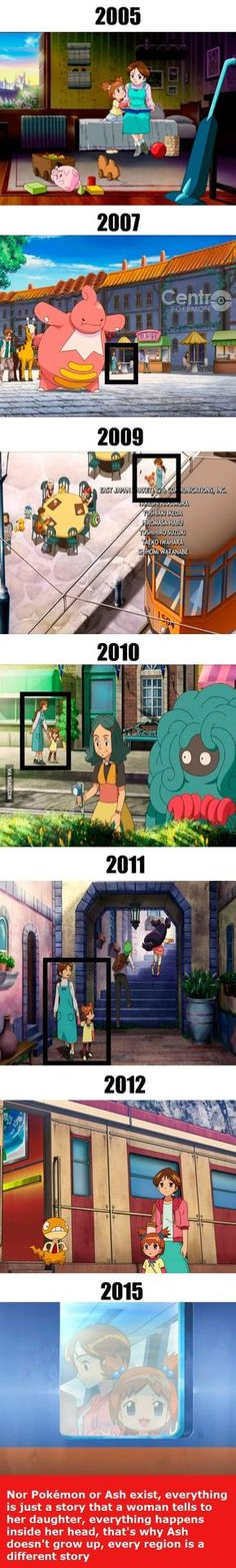 Interesting Theory about Pokemon... Wait What ?!? .. Ash isn't Real !?! .. 'o.0' !!!