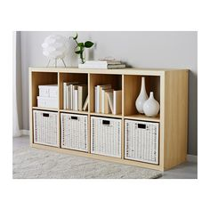 "BRANÄS Basket - white - IKEA $13 12 ½x13 ½x12 ½ "" also in gray and natural"