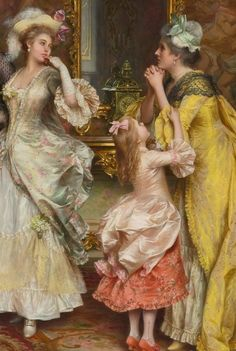 Arturo Ricci (Florence, 1854-1919) was an Italian painter, mainly of genre costume subjects.