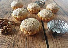 Diós kosárka Hungarian Desserts, Hungarian Cake, Hungarian Recipes, Sweet Cookies, Small Cake, Muffins, Wedding Desserts, Diy Food, Sweet Recipes