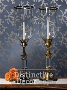 Wall sconces and candlestick holders soften any home design scheme by bringing soft light to hallways, dark corners, side tables and table tops. We offer a large selection of wall sconces, candlestick holders and pillar candle holders from Dessau Home and Andrea by Sadek.