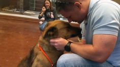 Frisco family reunites with dog after seven months missing.
