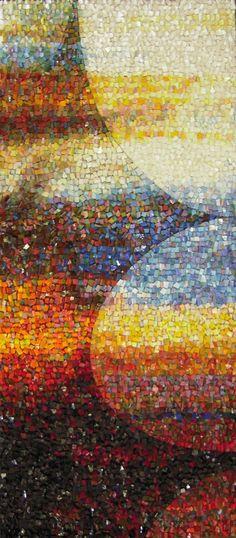 atelier de mosaïque gironde, babylon mosaic emilie baudrais | oeuvres originales