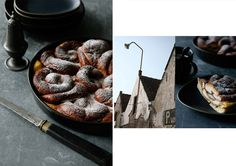 Foodstyling by Sander de Ponti. I like the dark colors and the raw looks of this picture.
