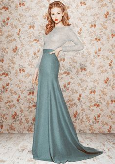 Vintage glamour.