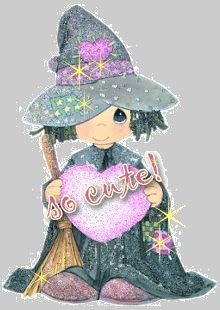 AllieKatzGraphics.com - Witch and Wizard Myspace Comments and Myspace Glitter Graphics!