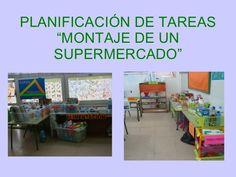 "PLANIFICACIÓN DE TAREAS ""MONTAJE DE UN SUPERMERCADO"""