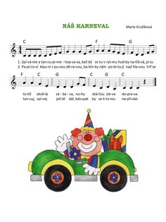 Circus City, G 1, Music Lessons, Worksheets, Piano, Kindergarten, Songs, Education, Halloween