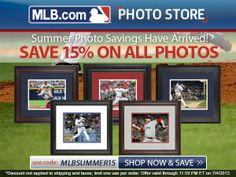 The MLB have so many creative ideas such as these photos fans can buy