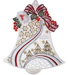 Fensterbild 20x27 +Saugnapf PLAUENER SPITZE® Weihnachten ADVENT Weihnachtsglocke in Möbel & Wohnen, Rollos, Gardinen & Vorhänge, Gardinen & Vorhänge | eBay!