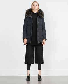 ZARA - WOMAN - QUILTED ANORAK