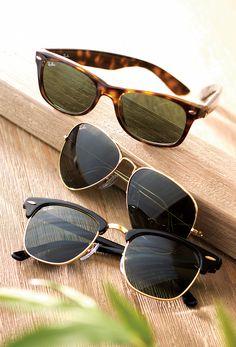 d4926e6e7d Ray Ban Sunglasses - Gold Framed Club Master