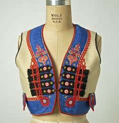 Ensemble Date: 1800–1939 Culture: Czech Medium: wool, silk, cotton