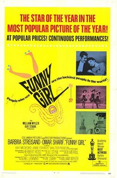 Funny Girl (1968)  barbara #streisand #musical
